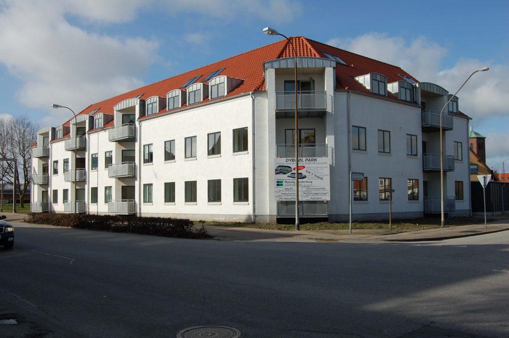 Wohn- und Geschäftshaus, Sønderborg DK