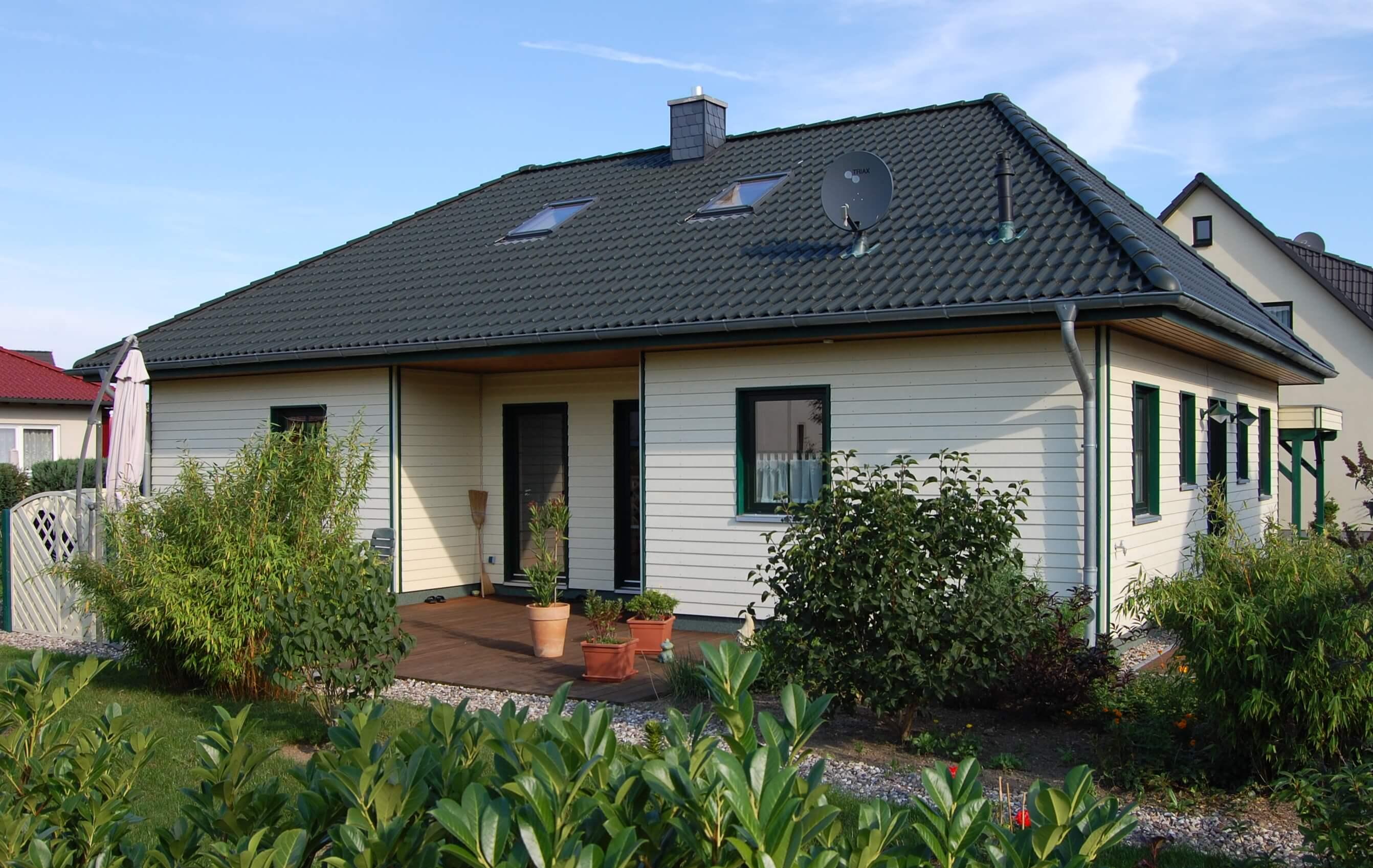 Einfamilienhaus in Holzrahmenbauweise (LŸübstorf)